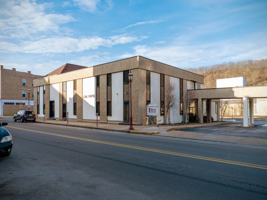 Photo of building at 427 West Main Street, Monongahela, Pa. 15063 along rt 88 and rt 136. Photo property of the Monongahela Main Street Program.
