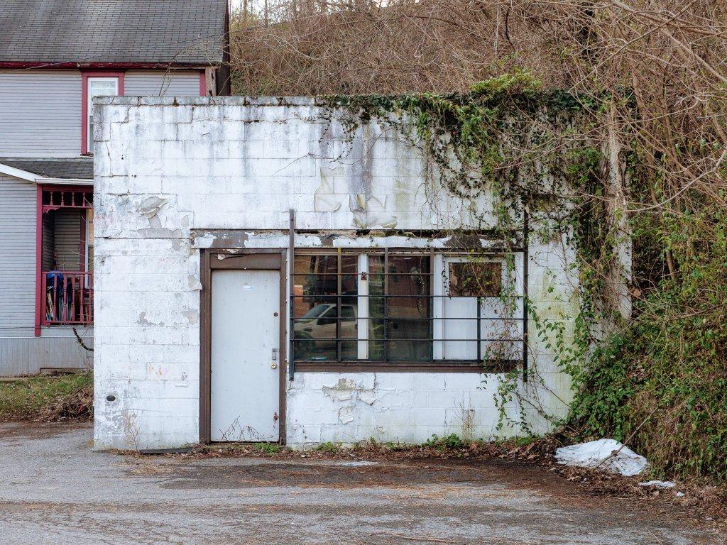 Photo of building at 100 West Main Street, Monongahela, Pa. 15063 along rt 88 and rt 136. Photo property of the Monongahela Main Street Program.