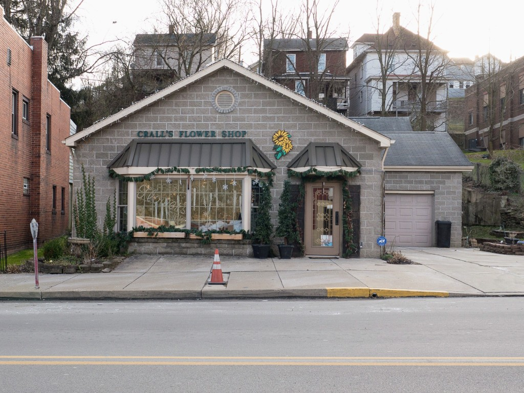 Photo of building at 120West Main Street, Monongahela, Pa. 15063 along rt 88 and rt 136. Photo property of the Monongahela Main Street Program.