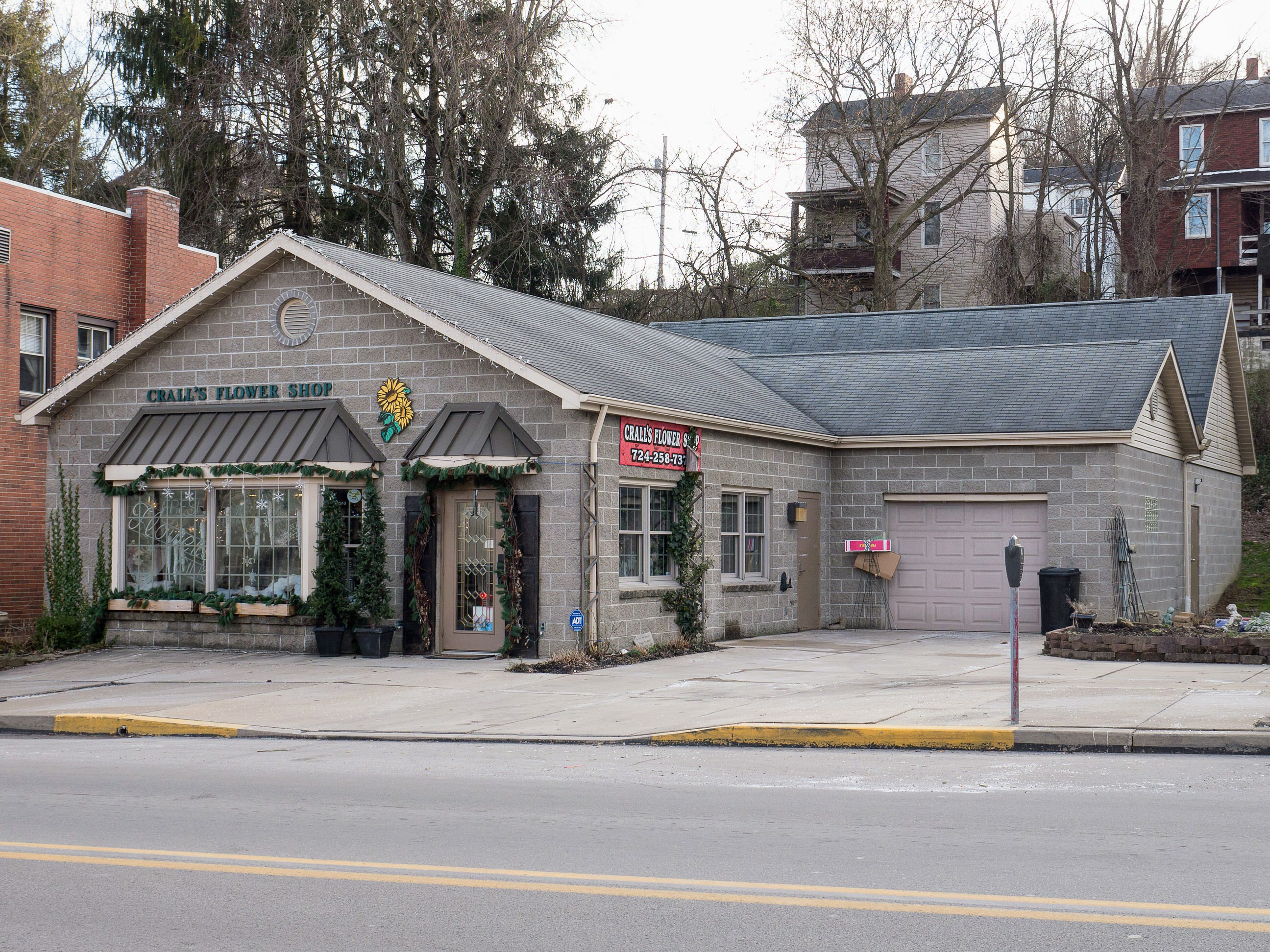 Photo of building at 120 West Main Street, Monongahela, Pa. 15063 along rt 88 and rt 136. Photo property of the Monongahela Main Street Program.