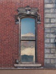 Window detail at Photo of building at 208 - 214 West Main Street, Monongahela, Pa. 15063 along rt 88 and rt 136. Photo property of the Monongahela Main Street Program.