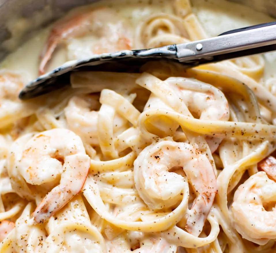 parmesan shrimp pasta